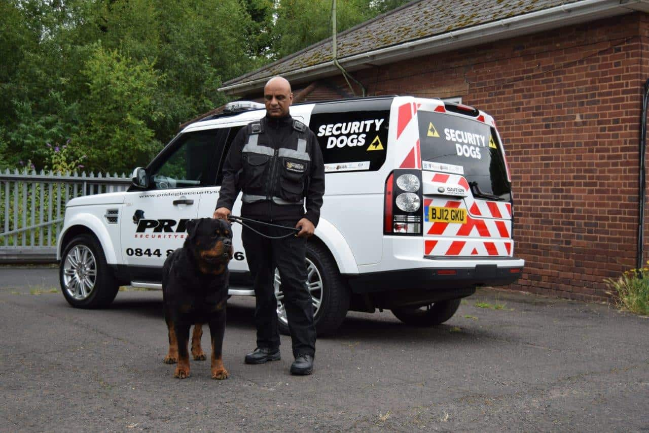 Protection Dog and Dog Handler Security Services