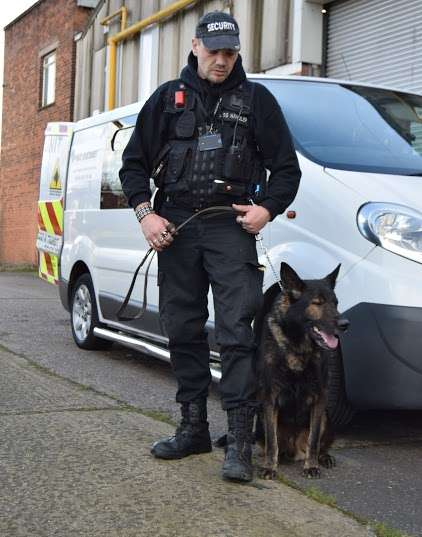 security dog handlers worcestershire