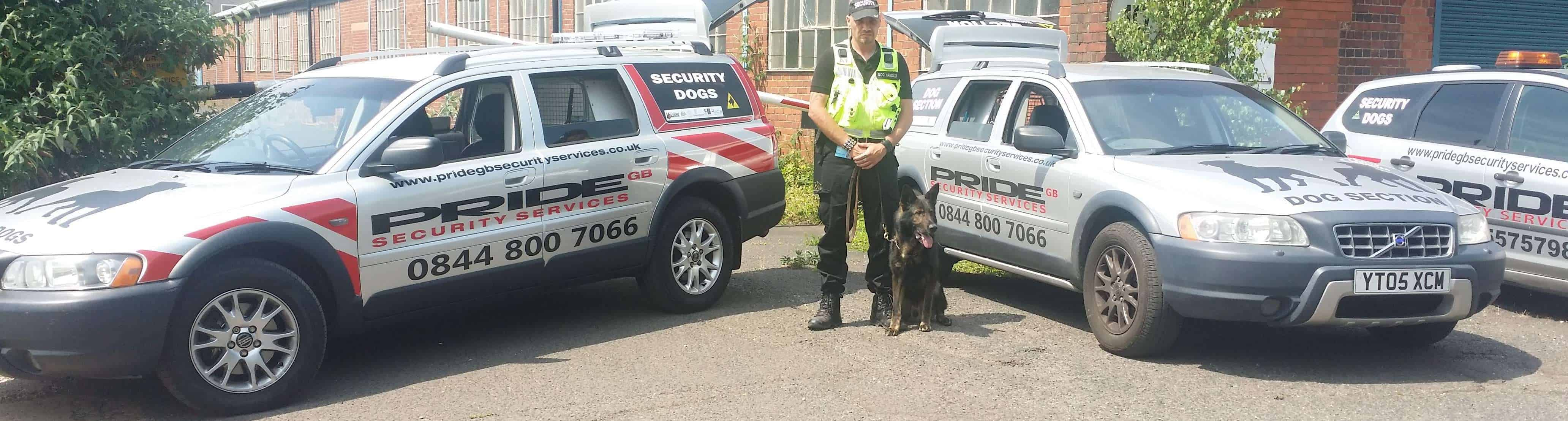 Security Dogs Handlers Tudor Hill