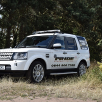 Pride GB Security Vehicle