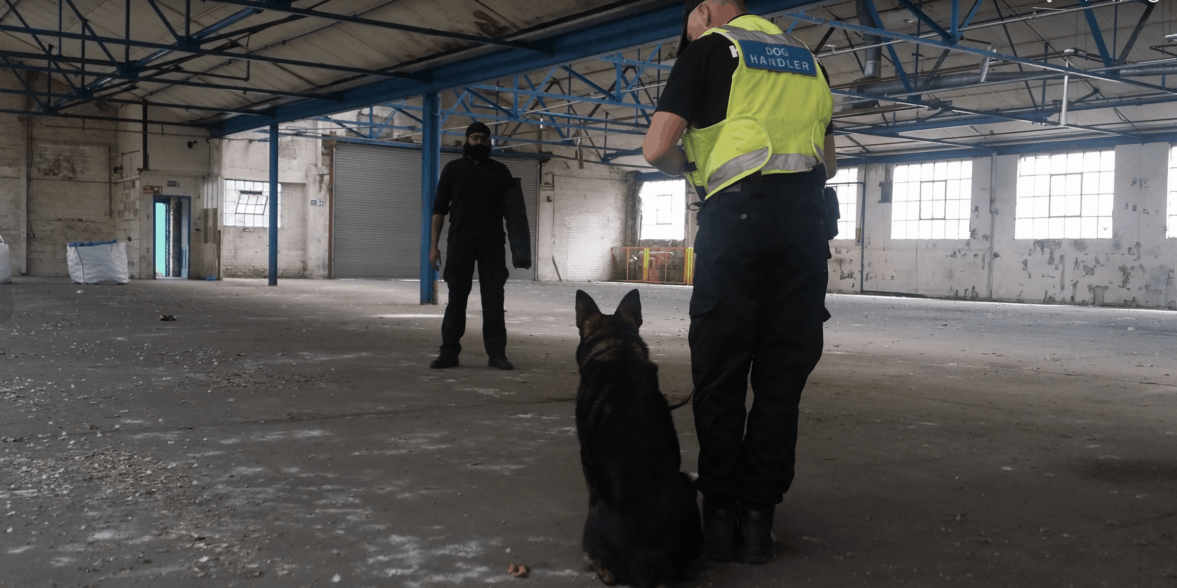 Security dogs london