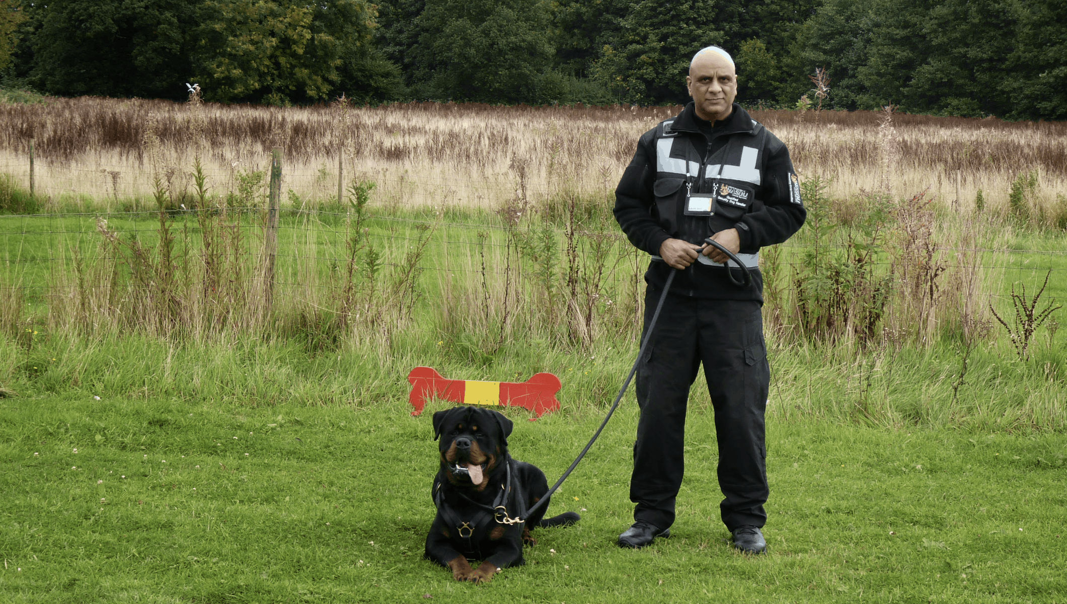 security dog handlers Bournemouth