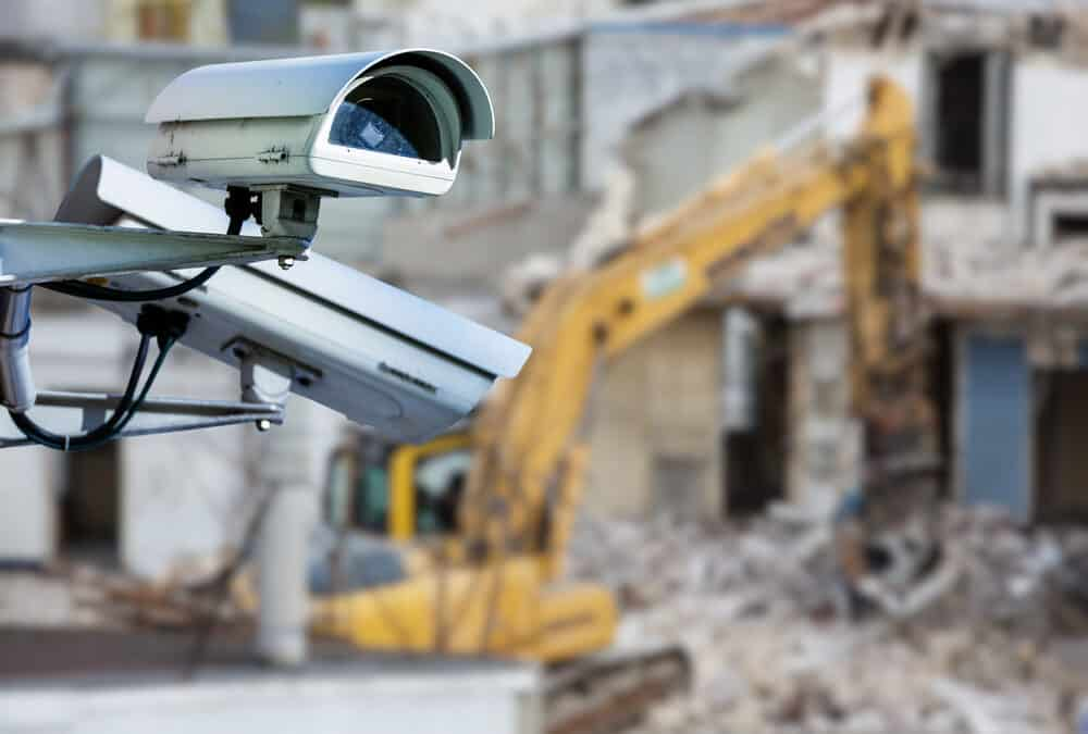 what is construction site security
