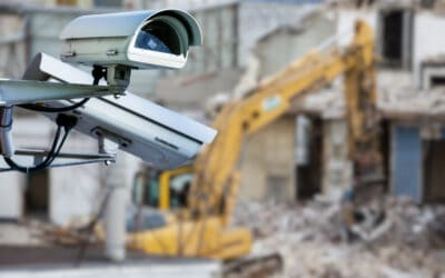 What is construction site security?