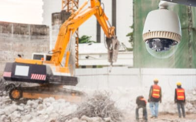 How to keep a construction site secure